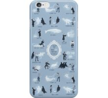 A Guide to Rare and Unusual Patronuses iPhone Case/Skin