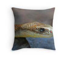 Coastal Taipan 2 Throw Pillow