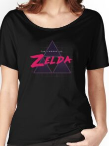 Zelda Synthwave Women's Relaxed Fit T-Shirt