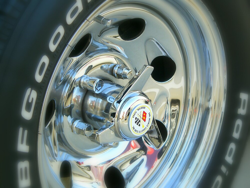 corvette wheel dreams by modernmuseum