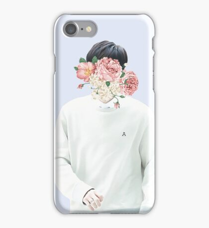 EXO Chanyeol Flower Aesthetic iPhone Case/Skin