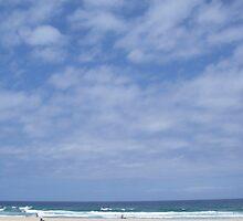 Summer at Maroubra Beach, Sydney Australia by Cre8iveAngel