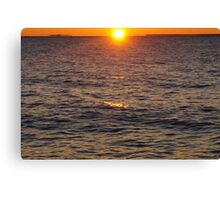 Crisp Sunrise Canvas Print