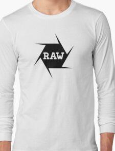 I shoot Raw Long Sleeve T-Shirt