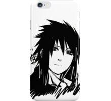 【5000+ views】NARUTO: Sasuke T-shirt in Black iPhone Case/Skin