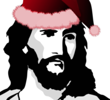 JESUS BIRTHDAY CHRISTMAS Sticker