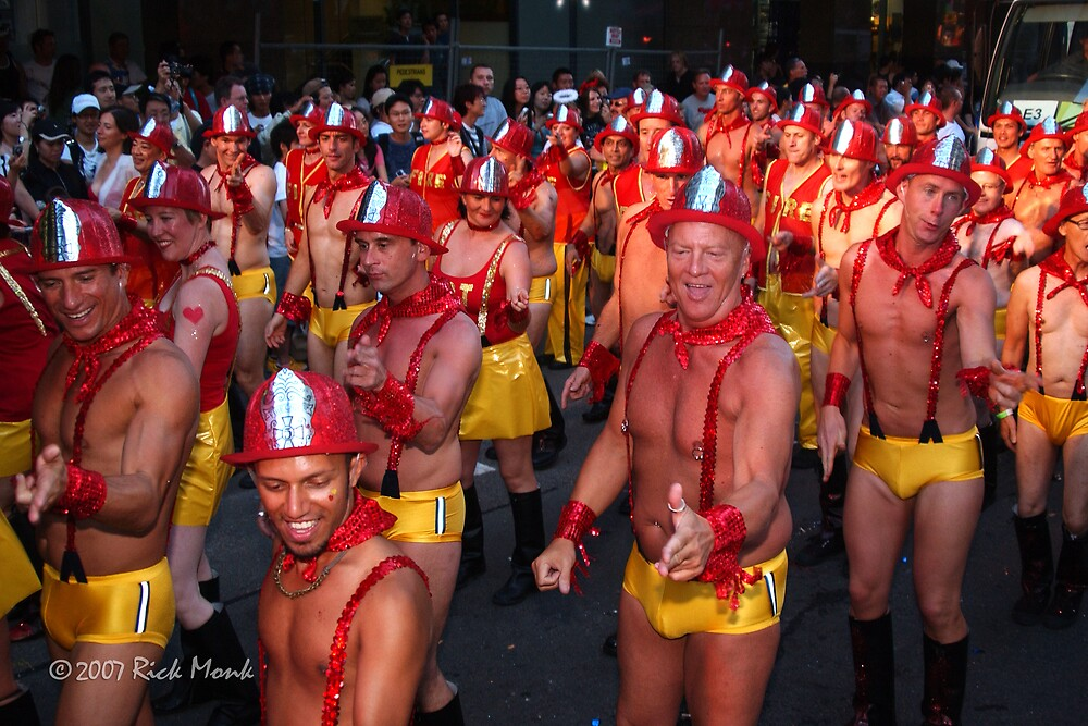 WE LOVE...FIREFIGHTERS by Rick Monk
