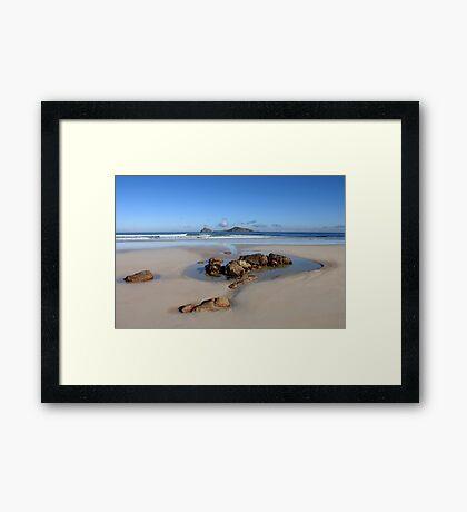Squeaky Beach, Wilsons Prom. Framed Print