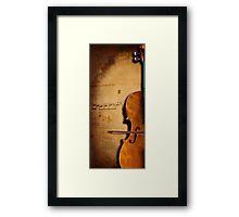 cello Framed Print