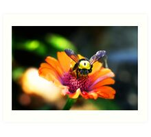 The Bumble Bee Art Print