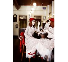 The Cafe Girls Photographic Print