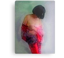 Kimono's Embrace #1 Metal Print