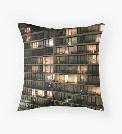 Apartment Patterns Throw Pillow