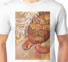 baby sea turtle- mixed media Unisex T-Shirt