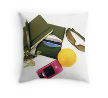 In my pockets Throw Pillow