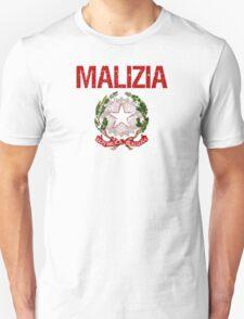 Malizia Surname Italian T-Shirt