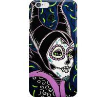 Sugar Skull Maleficent iPhone Case/Skin