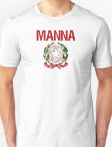 Manna Surname Italian T-Shirt