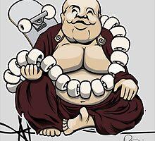 My own personal Buddha by Scott Robinson