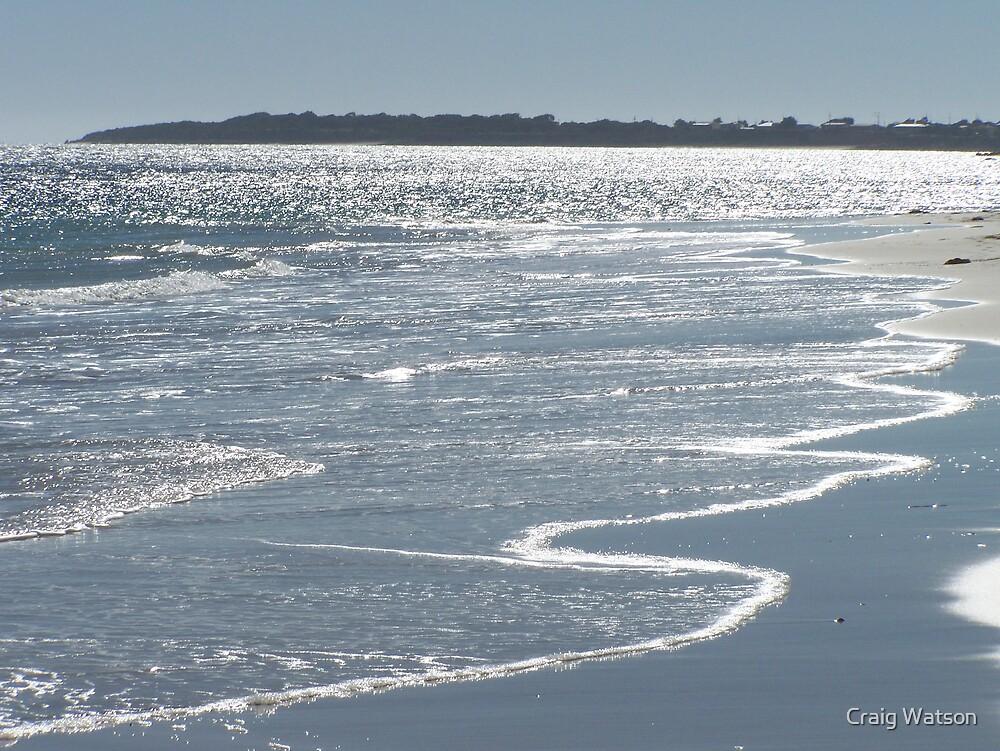 Late afternoon view across Port Moorowie, southern Yorke Peninsula, SA by Craig Watson