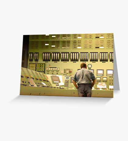Inside Sector 7G Greeting Card