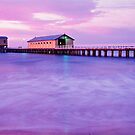 Pier PreDawn - Queenscliff - Victoria by James Pierce