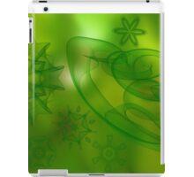 digital green scene  iPad Case/Skin