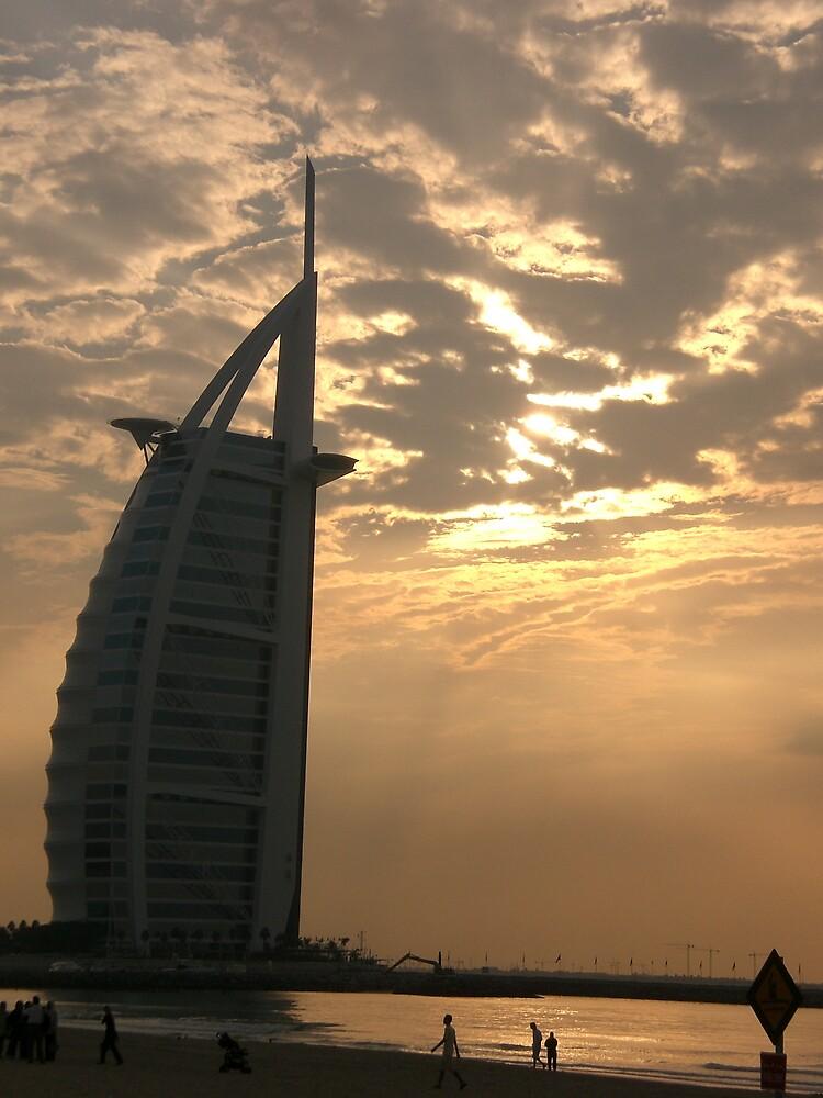 Burj Al Arab: Dubai by mdjonesyd