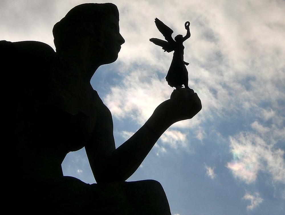 Shadow of an Angel: Munich by mdjonesyd