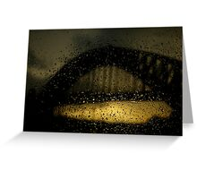 Light after tears... Greeting Card
