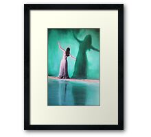 The Intoxication Of Shadows Framed Print
