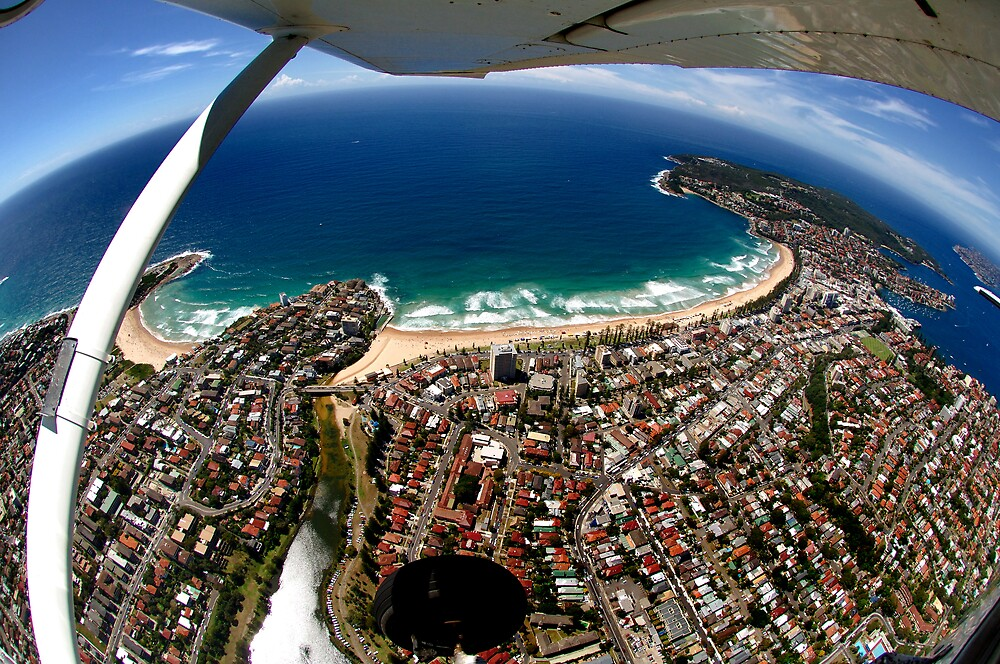 Above Sydney by Alex Lau