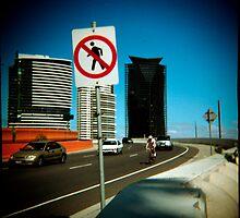 No Pedestrians by Cameron Stephen