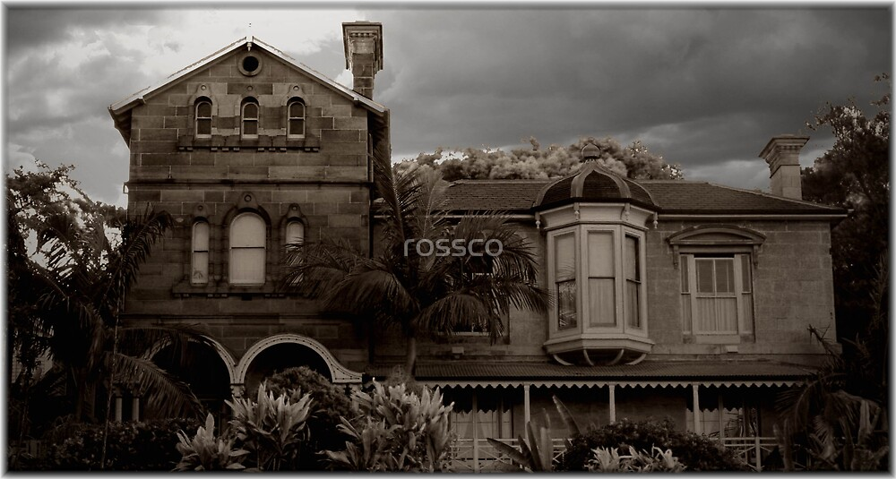 The House On The Hill by rossco