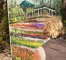 Painting Flowers by Shutterbug