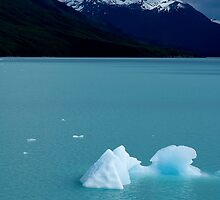Patagonian icebergs by Stephen Colquitt