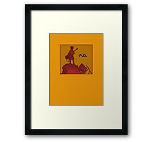 Fooly Cooly Framed Print