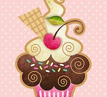 Scrumptious Cupcake by prettycritters