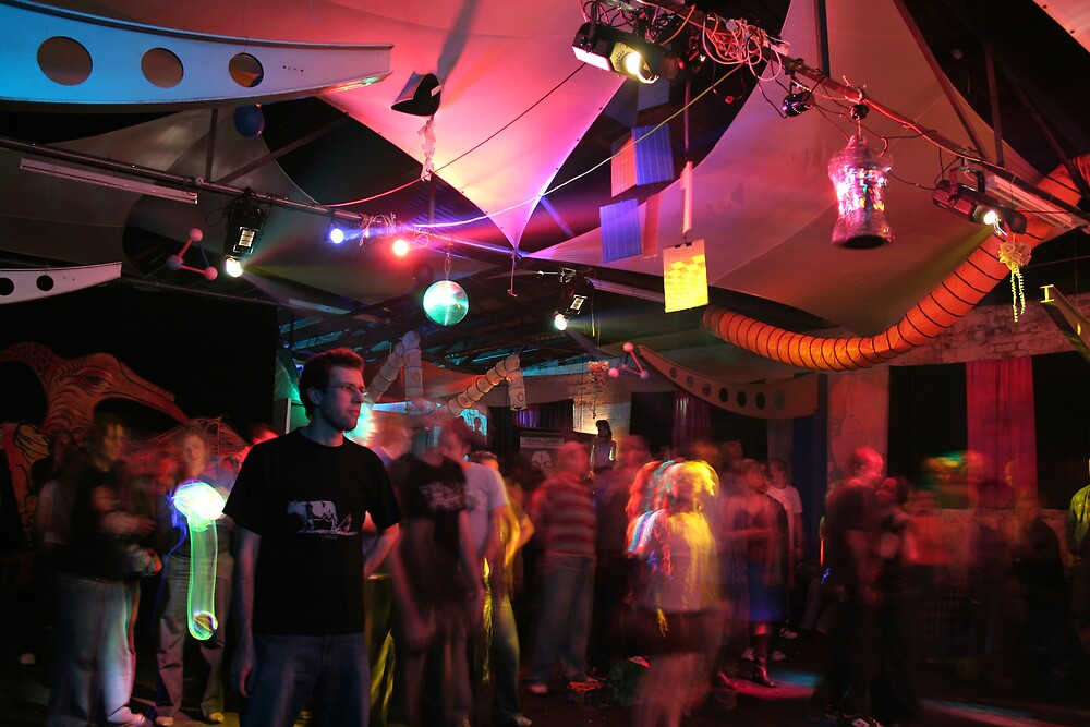 Warehouse Party Dreaming by Nathan Thomas