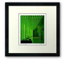 Green-ness Framed Print