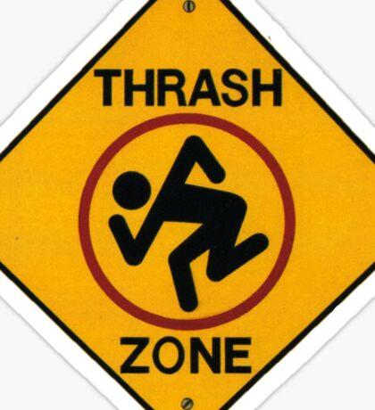 DRI - Thrash Zone Sticker