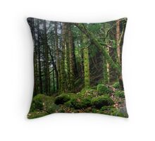 Torc forest Throw Pillow