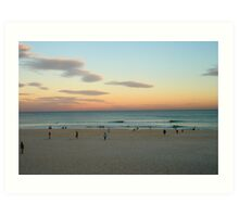 Bondi Sunset Art Print