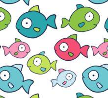Little fishes Sticker
