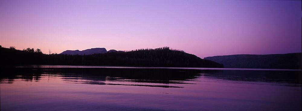 Evening - Lake St Clair - Tasmania by James Pierce