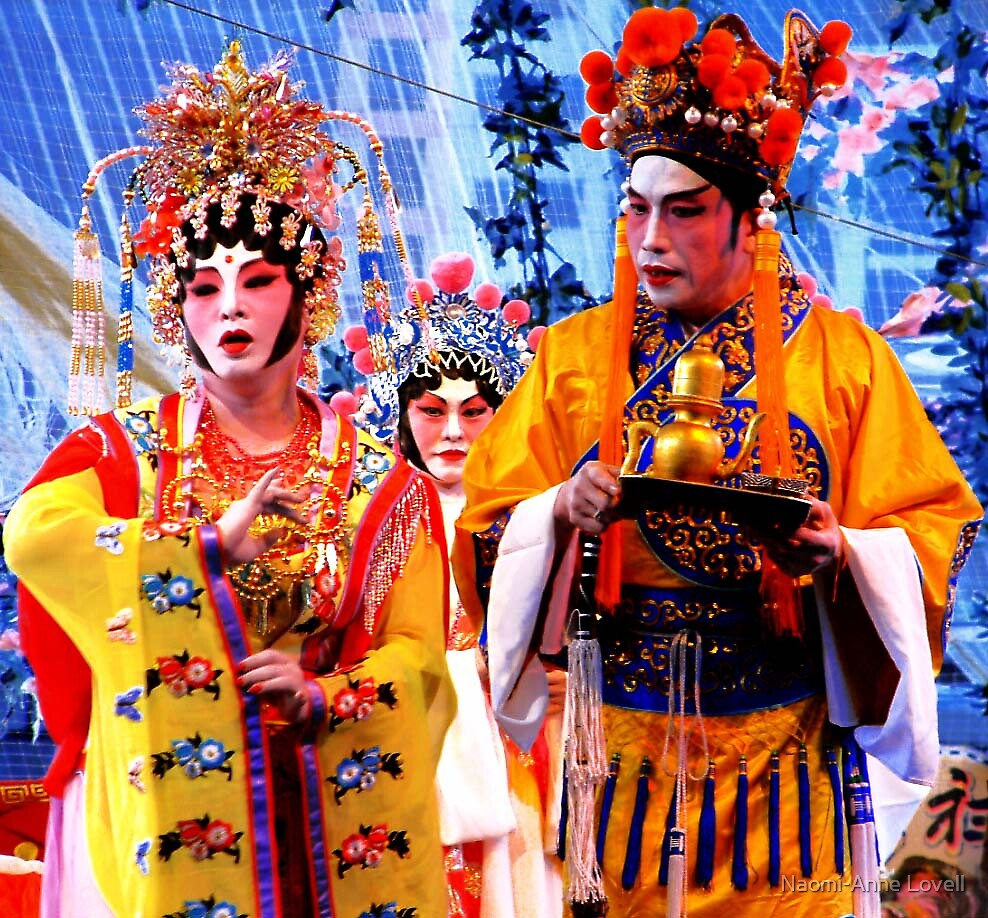 Chinese Opera by Naomi-Anne Lovell