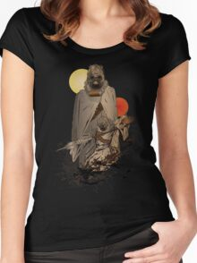 Raiders of the Twin Sun Women's Fitted Scoop T-Shirt