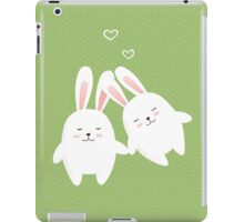 Bunnies in love iPad Case/Skin
