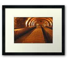 Well rounded Framed Print