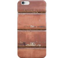 Old iron rolling shutter. iPhone Case/Skin